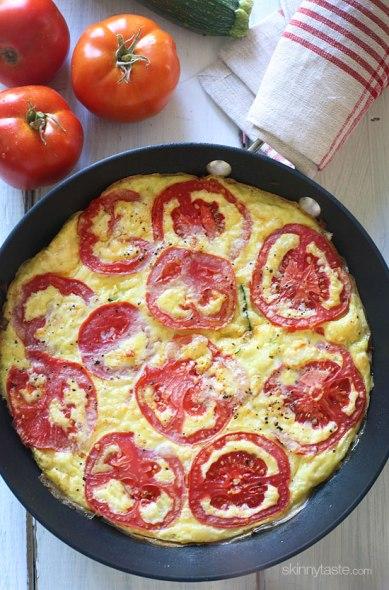summer-tomato-zucchini-frittata